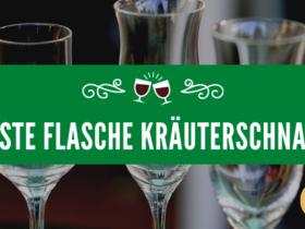 Beste Flasche Kräuterschnaps