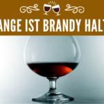 Wie lange ist Brandy haltbar