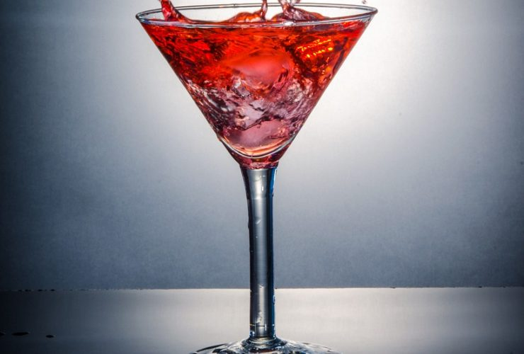 Cosmopolitan mit Vodka