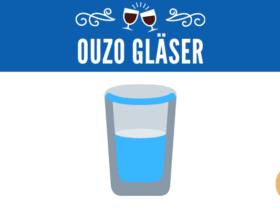 Ouzo Gläser